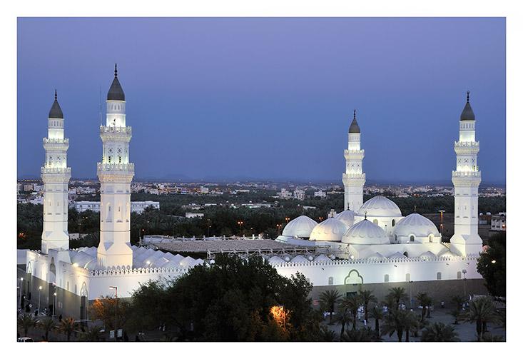 نتيجة بحث الصور عن مسجد قباء