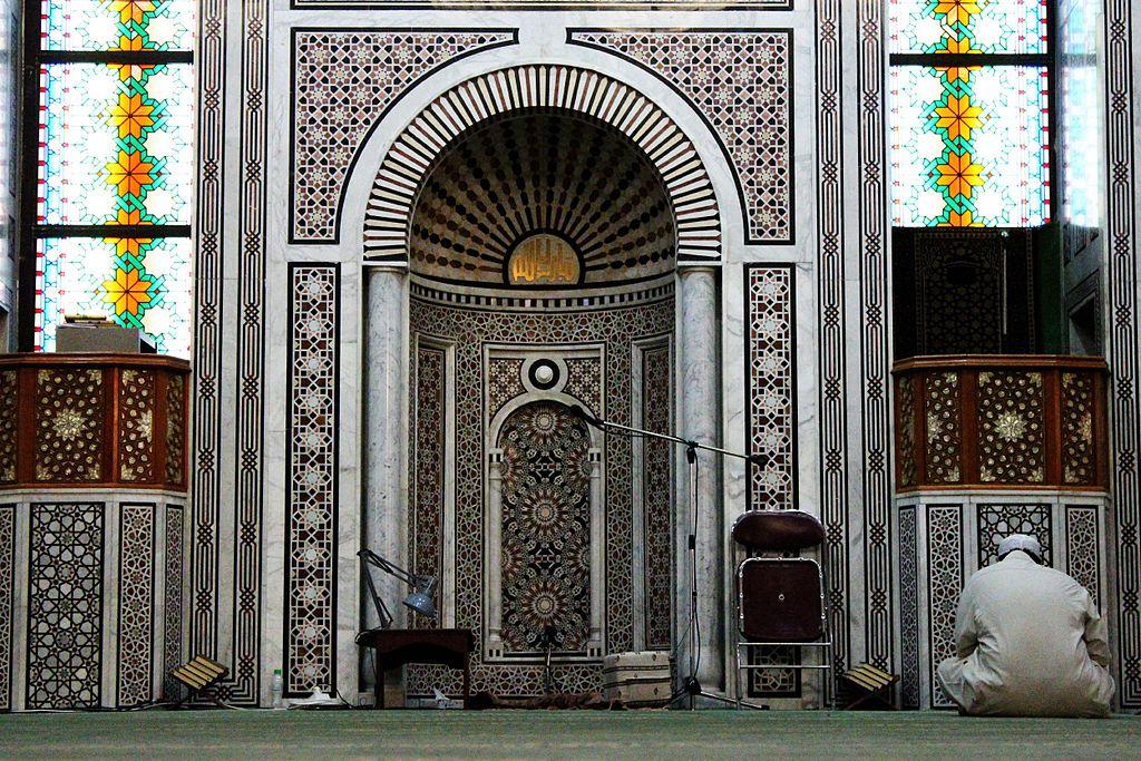 مصلى المسجد العائم