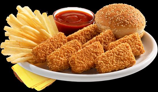 وجبة دجاج البيك (4 قطع)