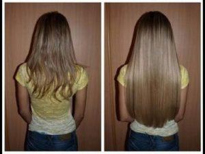 تجارب زيت لتطويل الشعر
