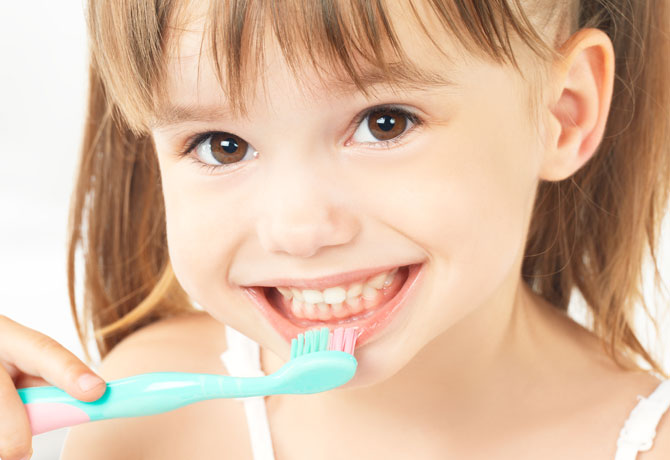 اسنان الأطفال