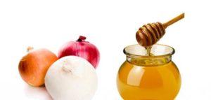 العسل والبصل