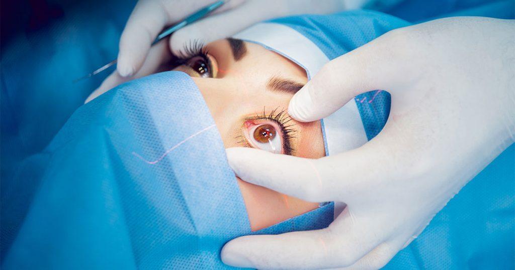 جراحة العيون في الجبيل