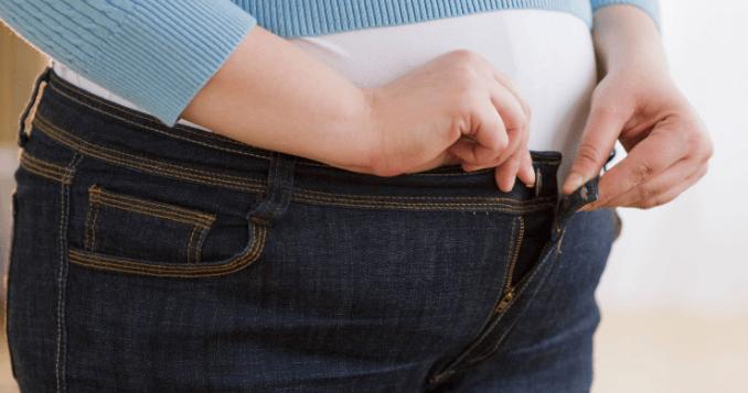 أسباب زيادة الوزن في الخصر