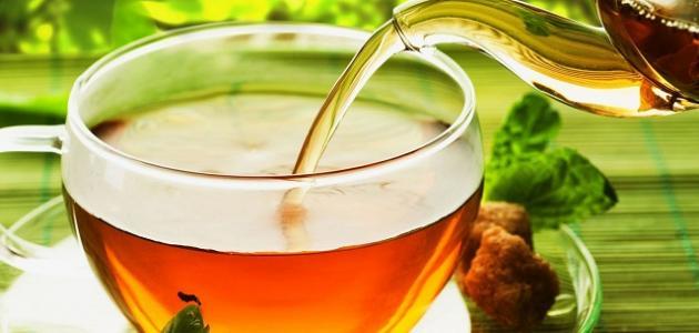 الشاي الأخضر والنعناع:
