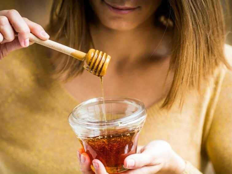العسل الابيض للشعر