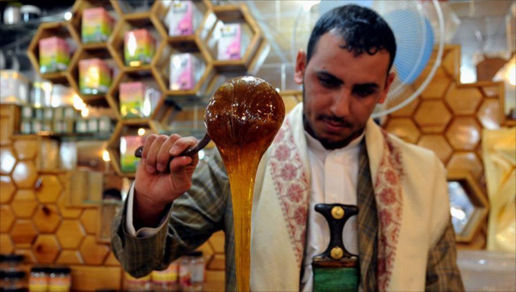 العسل اليمنى