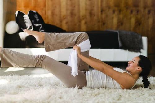 تمارين عضلات البطن العلوية