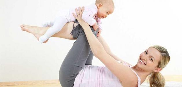 تخسيس البطن بعد الولادة القيصرية