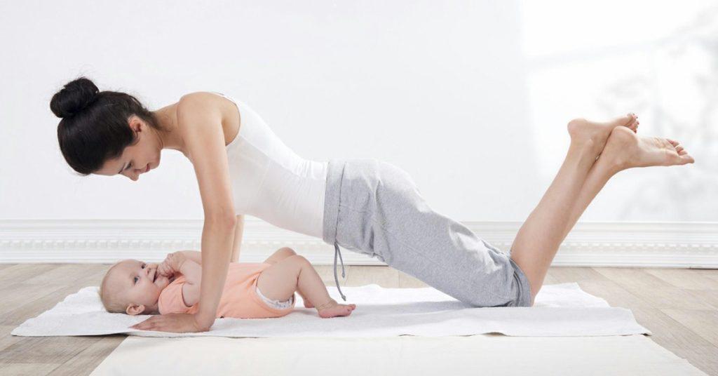 طرق تخسيس البطن بعد الولادة القيصرية