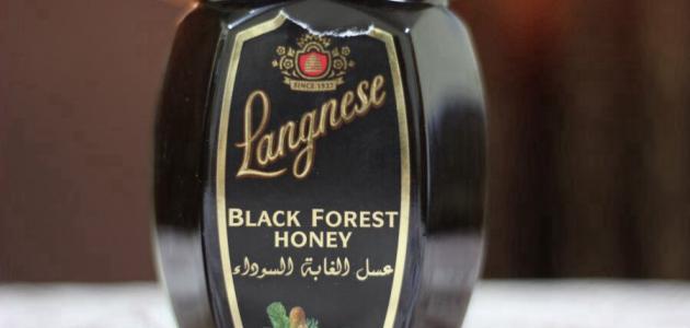 عسل الغابة السوداء لانجنيز