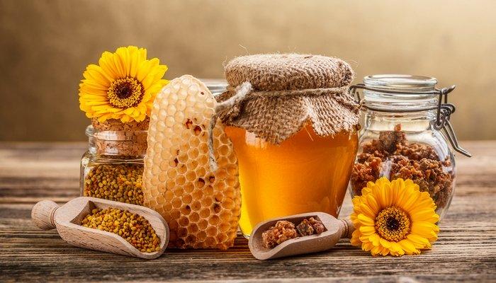 عسل الورد البلدي