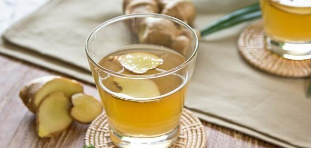 وصفة الزنجبيل مع زيت الزيتون
