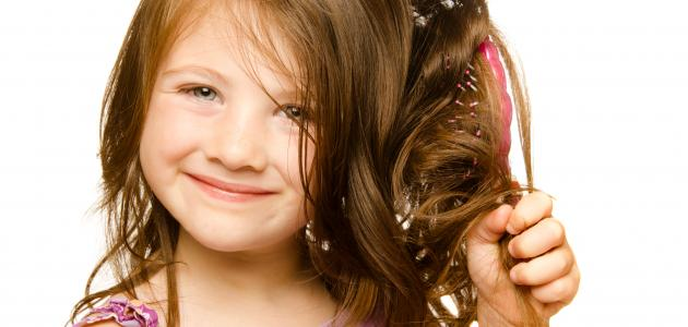 اسباب تقصف الشعر للاطفال