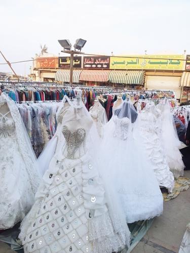 بوتيكات فساتين زفاف في جده