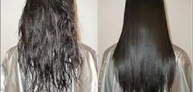 ترميم الشعر بعد البروتين