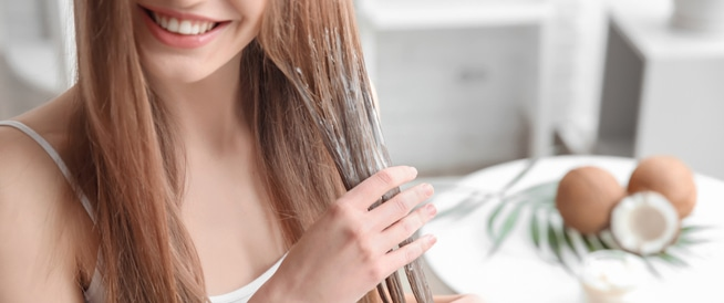تقصف اطراف الشعر