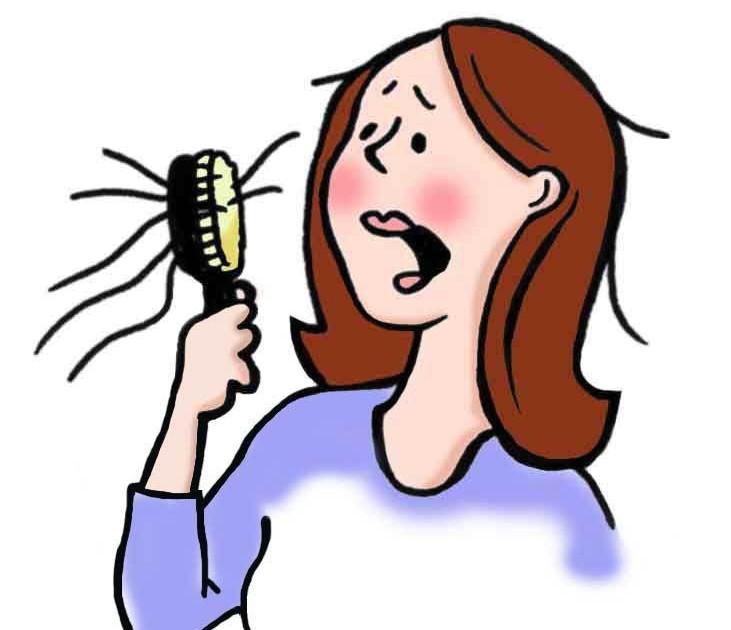 تقصف الشعر في الحمل