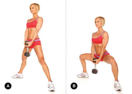 تمارين القرفصاء squats