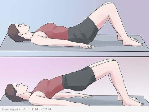 طريقة النوم الصحيحة لتكبير المؤخرة