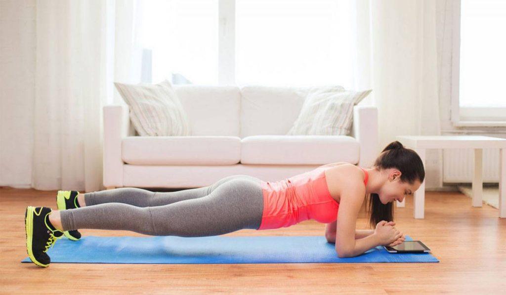 تمرين Pushups With a Side Plank