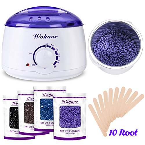 جهازWokaar Rapid Melt Wax Warming Kit – Mid-Range