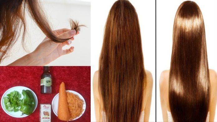 خلطات لعلاج تقصف الشعر الشديد