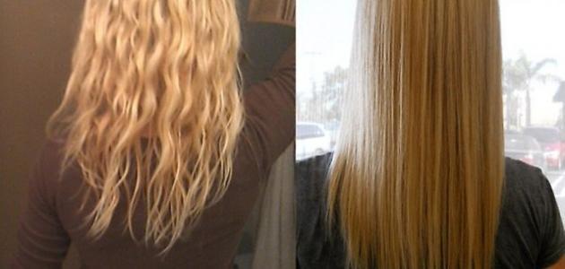 خلطات منزلية لمعالجة الشعر المتقصف