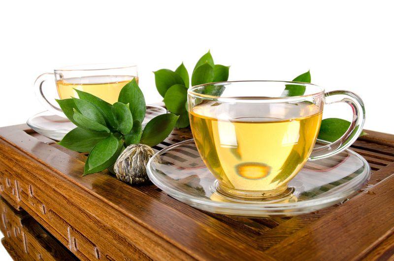 خلطة شاي اخضر