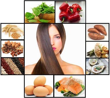 سوء التغذية - الشعر