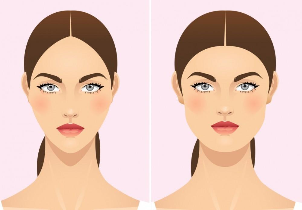 طرق تنحيف الوجه وازالة اللغلوغ