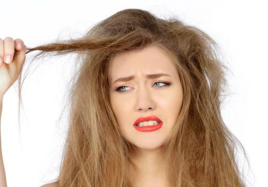 علاج جفاف وبهتان الشعر