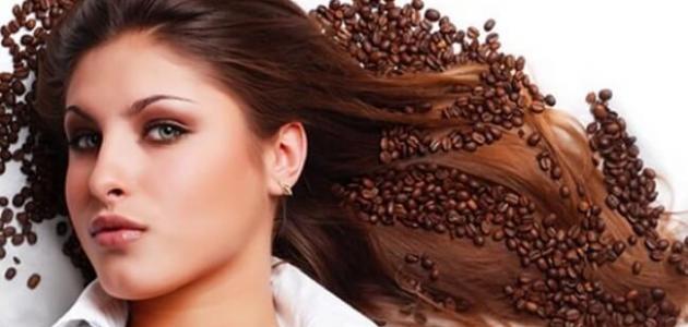 علاج تقصف الشعر بالقهوة