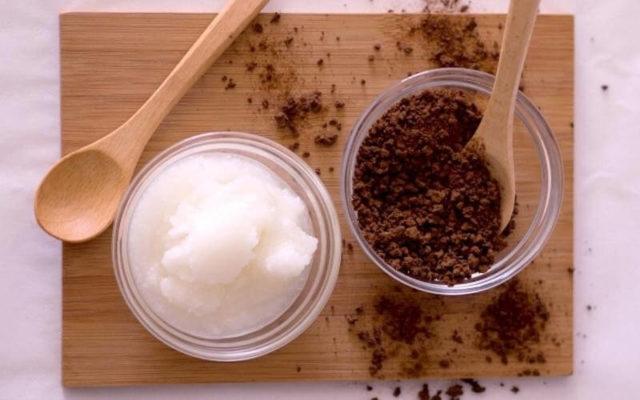 علاج تقصف اطراف الشعر بالقهوه