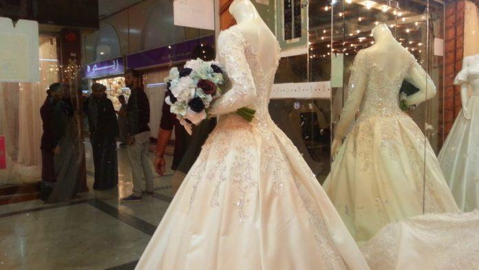 محلات فساتين زفاف في جده