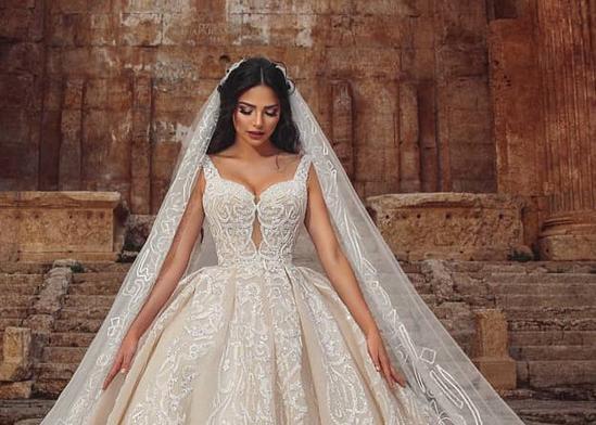 محل ليالينا لفساتين الزفاف