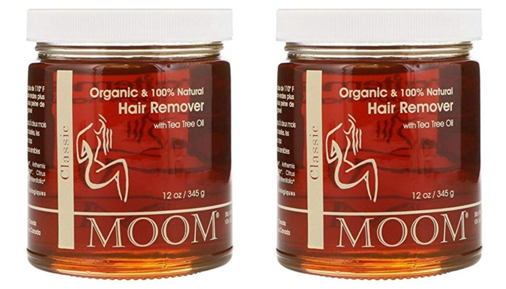Moom Organic Hair Removal With Tea Tree Refill Jar