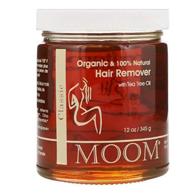 Moom Organic Hair Removal With Tea Tree Refill Jar