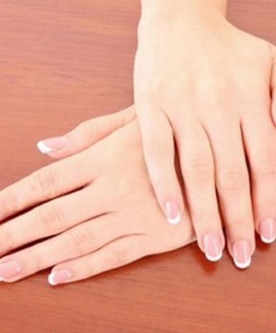 تبييض اليدين طبيعيا