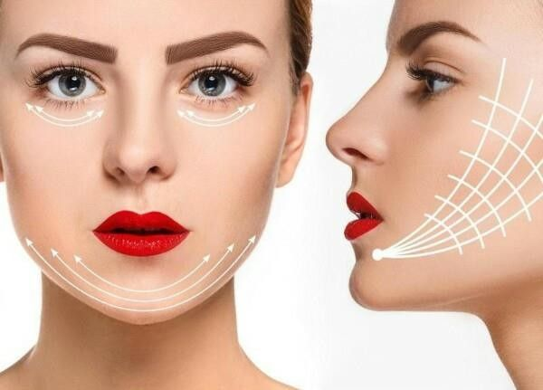 تجارب تنحيف الوجه