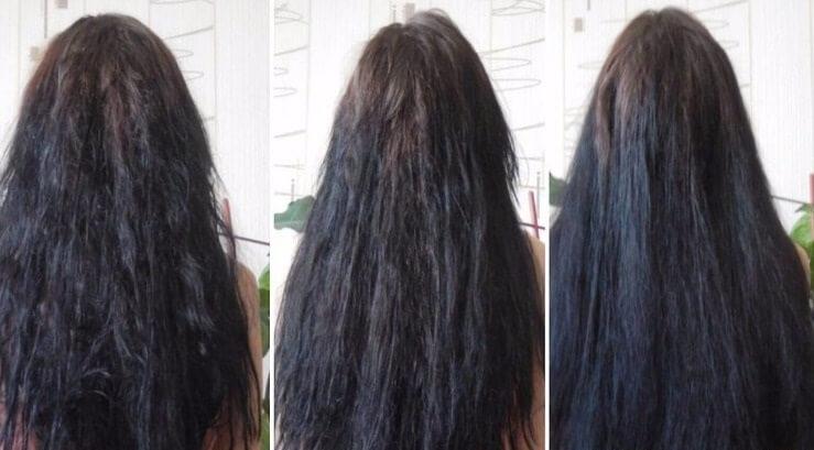 تنعيم الشعر في دقائق