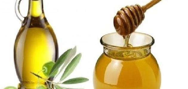 خلطة العسل وزيت الزيتون