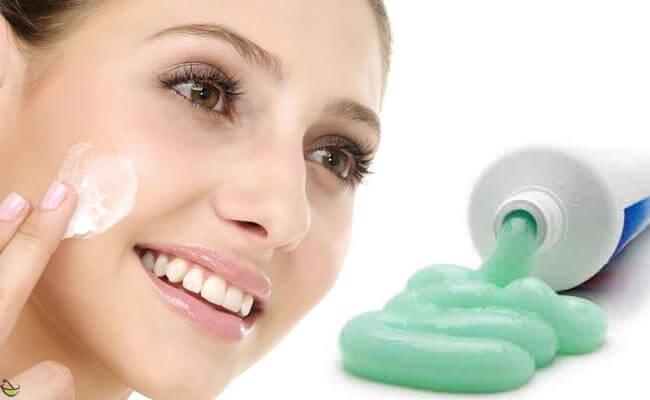 خلطة معجون الاسنان والملح