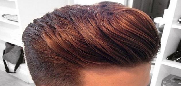 زيوت لتنعيم الشعر للرجال
