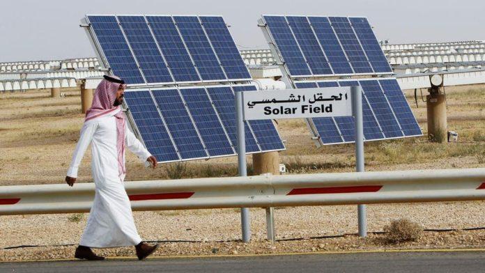 شركات الطاقة المتجددة في السعودية