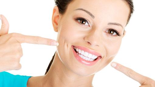 عملية تبييض الاسنان