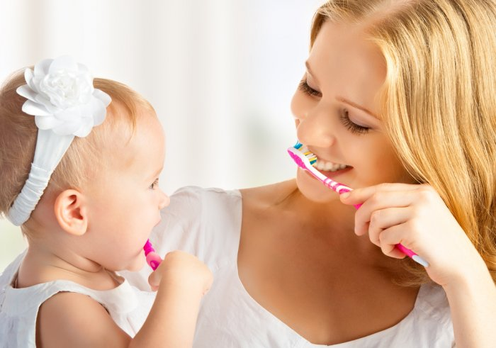 نصائح للعناية بالاسنان للاطفال