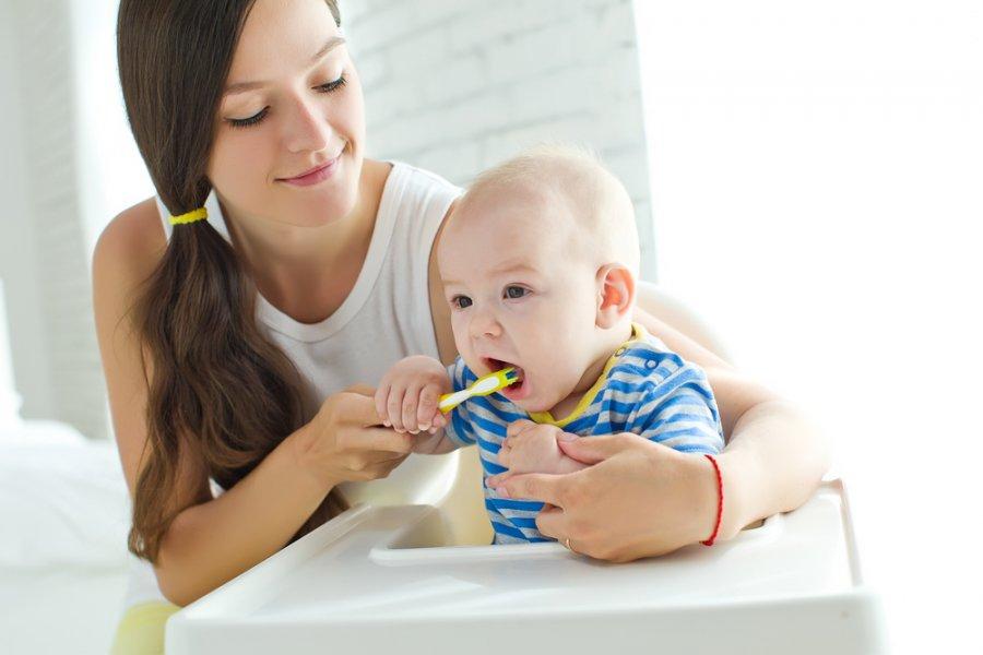 نظافة الاسنان للاطفال