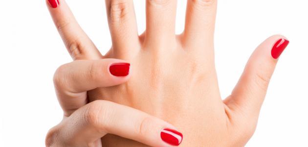 وصفة لنفخ اليدين