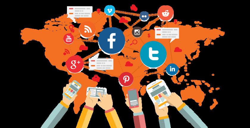 التسويق عبر شبكات التواصل الاجتماعي :( Social Media )